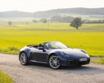 2020 Porsche 911 Carrera Cabriolet (Color: Gentian Blue Metallic) Front Three-Quarter Wallpapers 150x120 (36)