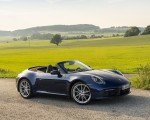 2020 Porsche 911 Carrera Cabriolet (Color: Gentian Blue Metallic) Front Three-Quarter Wallpapers 150x120 (24)