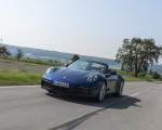 2020 Porsche 911 Carrera Cabriolet (Color: Gentian Blue Metallic) Front Three-Quarter Wallpapers 150x120 (12)