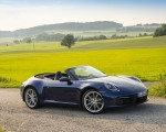 2020 Porsche 911 Carrera Cabriolet (Color: Gentian Blue Metallic) Front Three-Quarter Wallpapers 150x120 (37)