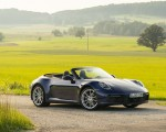 2020 Porsche 911 Carrera Cabriolet (Color: Gentian Blue Metallic) Front Three-Quarter Wallpapers 150x120 (25)