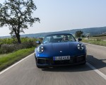 2020 Porsche 911 Carrera Cabriolet (Color: Gentian Blue Metallic) Front Wallpapers 150x120 (18)