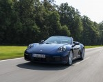 2020 Porsche 911 Carrera Cabriolet (Color: Gentian Blue Metallic) Front Wallpapers 150x120 (19)