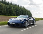 2020 Porsche 911 Carrera Cabriolet (Color: Gentian Blue Metallic) Front Wallpapers 150x120 (4)