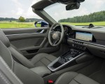 2020 Porsche 911 Carrera Cabriolet (Color: Gentian Blue Metallic) Interior Wallpapers 150x120 (47)