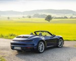 2020 Porsche 911 Carrera Cabriolet (Color: Gentian Blue Metallic) Rear Three-Quarter Wallpapers 150x120 (41)