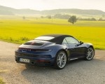 2020 Porsche 911 Carrera Cabriolet (Color: Gentian Blue Metallic) Rear Three-Quarter Wallpapers 150x120 (39)