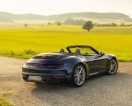 2020 Porsche 911 Carrera Cabriolet (Color: Gentian Blue Metallic) Rear Three-Quarter Wallpapers 150x120 (28)