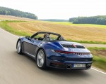 2020 Porsche 911 Carrera Cabriolet (Color: Gentian Blue Metallic) Rear Three-Quarter Wallpapers 150x120 (5)