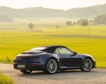 2020 Porsche 911 Carrera Cabriolet (Color: Gentian Blue Metallic) Rear Three-Quarter Wallpapers 150x120 (40)