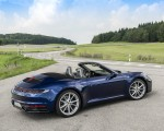2020 Porsche 911 Carrera Cabriolet (Color: Gentian Blue Metallic) Rear Three-Quarter Wallpapers 150x120 (29)