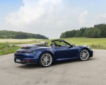2020 Porsche 911 Carrera Cabriolet (Color: Gentian Blue Metallic) Rear Three-Quarter Wallpapers 150x120 (30)