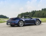 2020 Porsche 911 Carrera Cabriolet (Color: Gentian Blue Metallic) Rear Three-Quarter Wallpapers 150x120 (31)