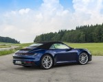 2020 Porsche 911 Carrera Cabriolet (Color: Gentian Blue Metallic) Rear Three-Quarter Wallpapers 150x120 (32)