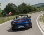 2020 Porsche 911 Carrera Cabriolet (Color: Gentian Blue Metallic) Rear Wallpapers 150x120 (9)