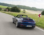 2020 Porsche 911 Carrera Cabriolet (Color: Gentian Blue Metallic) Rear Wallpapers 150x120 (7)