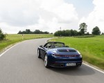 2020 Porsche 911 Carrera Cabriolet (Color: Gentian Blue Metallic) Rear Wallpapers 150x120 (8)
