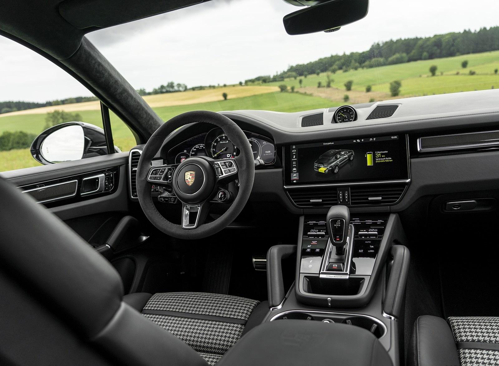 2020 Porsche Cayenne Turbo S E Hybrid Interior Wallpapers 44 Newcarcars