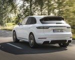 2020 Porsche Cayenne Turbo S E-Hybrid Rear Three-Quarter Wallpapers 150x120 (34)