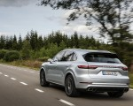 2020 Porsche Cayenne Turbo S E-Hybrid Rear Three-Quarter Wallpapers 150x120 (9)