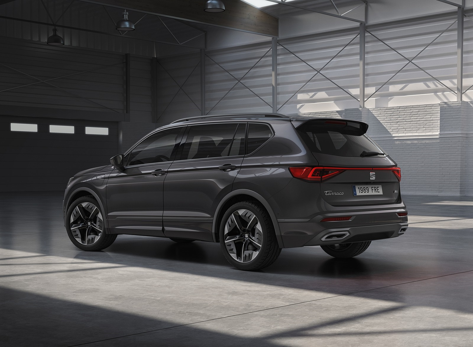 2020 SEAT Tarraco FR PHEV Rear Three-Quarter Wallpapers (6)