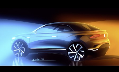 2020 Volkswagen T-Roc Cabriolet Design Sketch Wallpapers 450x275 (205)