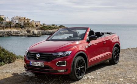 2020 Volkswagen T-Roc Cabriolet Front Three-Quarter Wallpapers 450x275 (111)