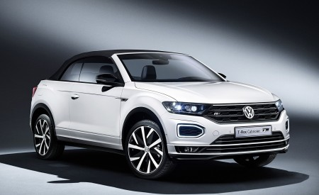 2020 Volkswagen T-Roc Cabriolet Front Three-Quarter Wallpapers 450x275 (165)