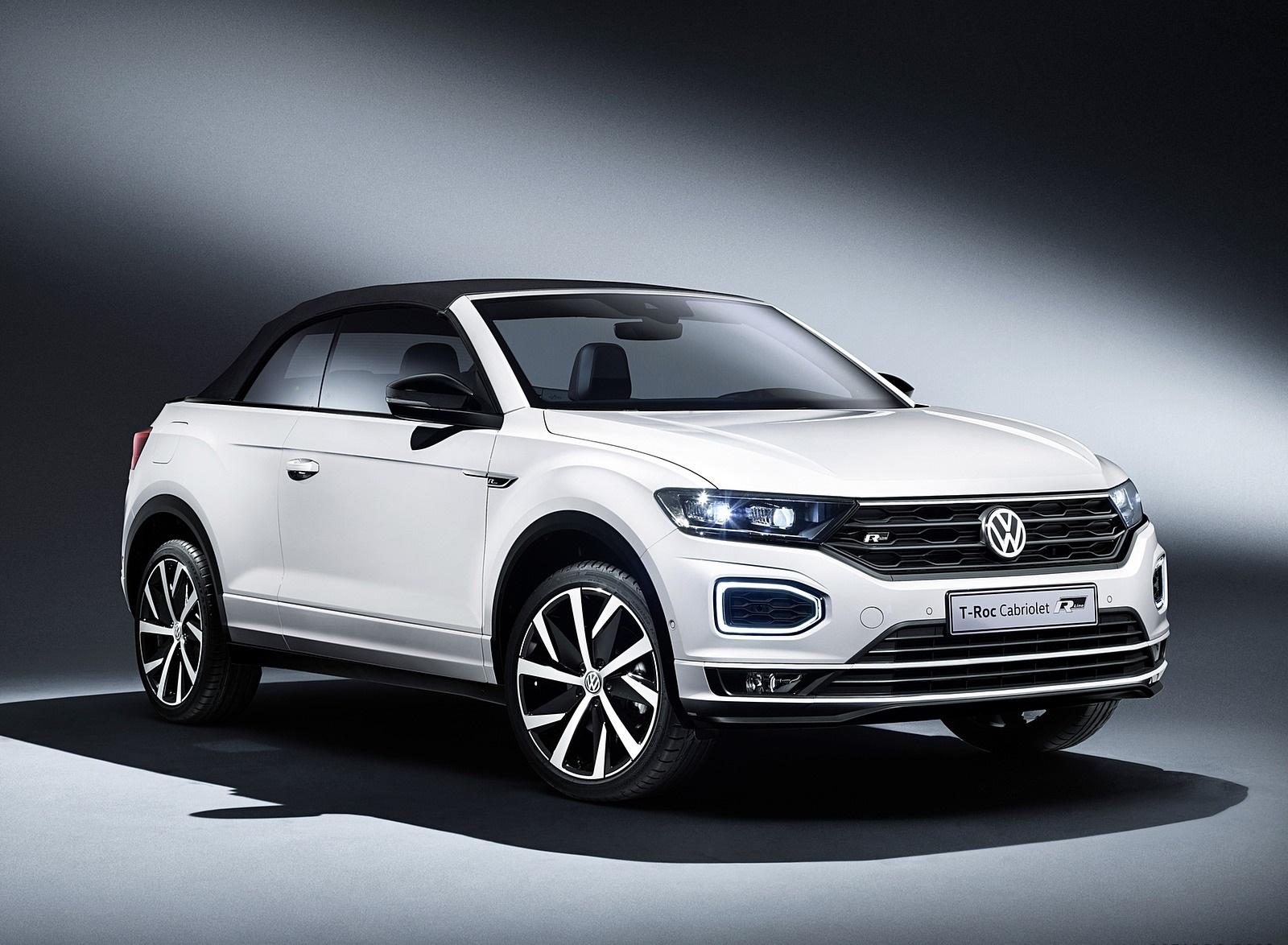 2020 Volkswagen T-Roc Cabriolet Front Three-Quarter Wallpapers (7)