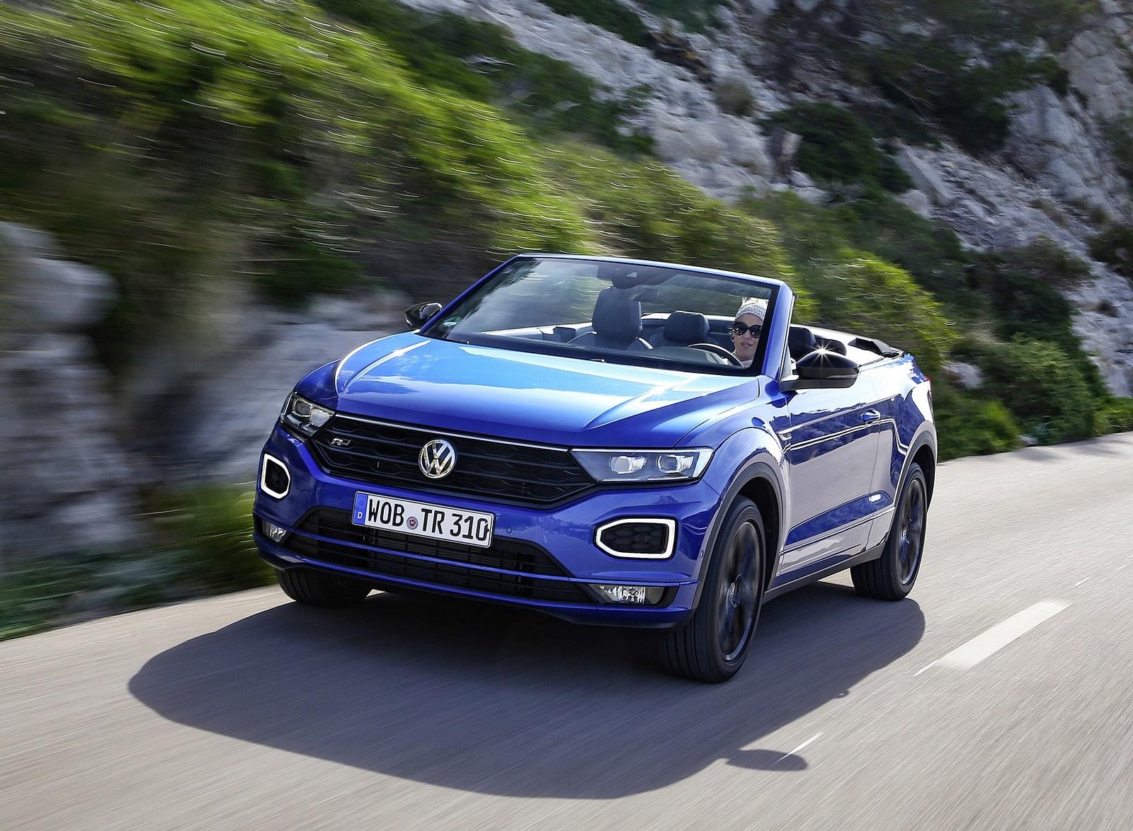 2020 Volkswagen T-Roc Cabriolet Front Three-Quarter Wallpapers (3)