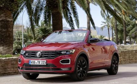 2020 Volkswagen T-Roc Cabriolet Front Three-Quarter Wallpapers 450x275 (117)