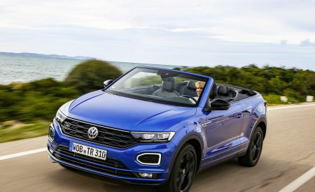 2020 Volkswagen T-Roc Cabriolet Front Three-Quarter Wallpapers 450x275 (26)