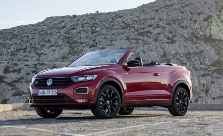 2020 Volkswagen T-Roc Cabriolet Front Three-Quarter Wallpapers 450x275 (103)