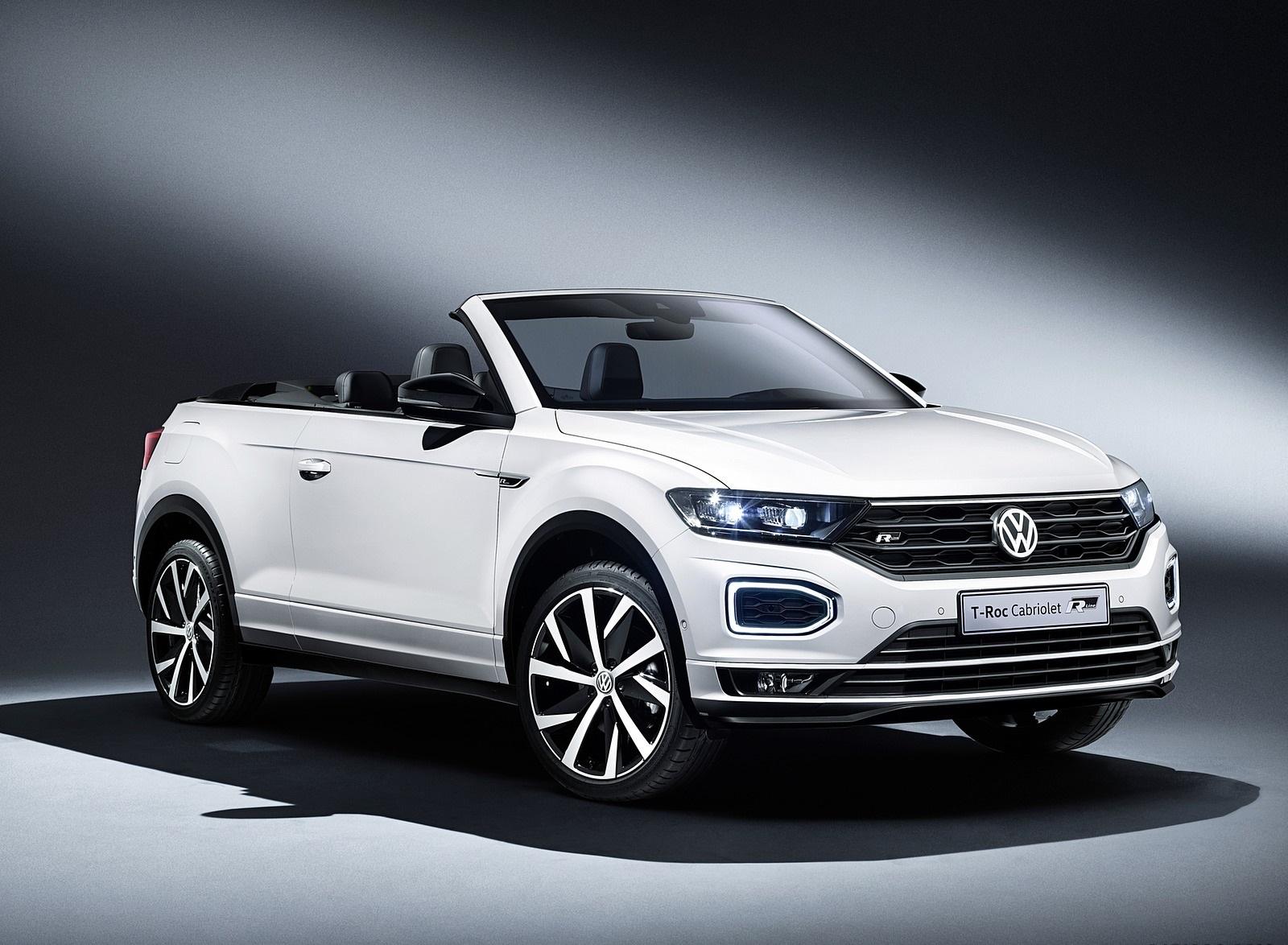 2020 Volkswagen T-Roc Cabriolet Front Three-Quarter Wallpapers (8)