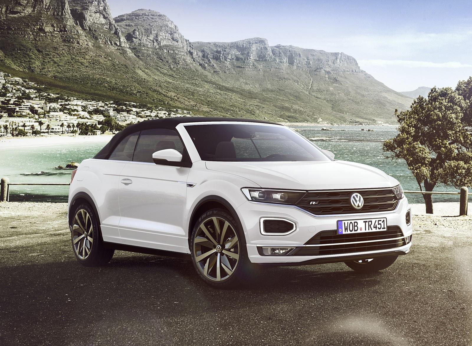 2020 Volkswagen T-Roc Cabriolet Front Three-Quarter Wallpapers (6)