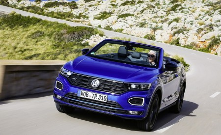 2020 Volkswagen T-Roc Cabriolet Front Wallpapers 450x275 (6)