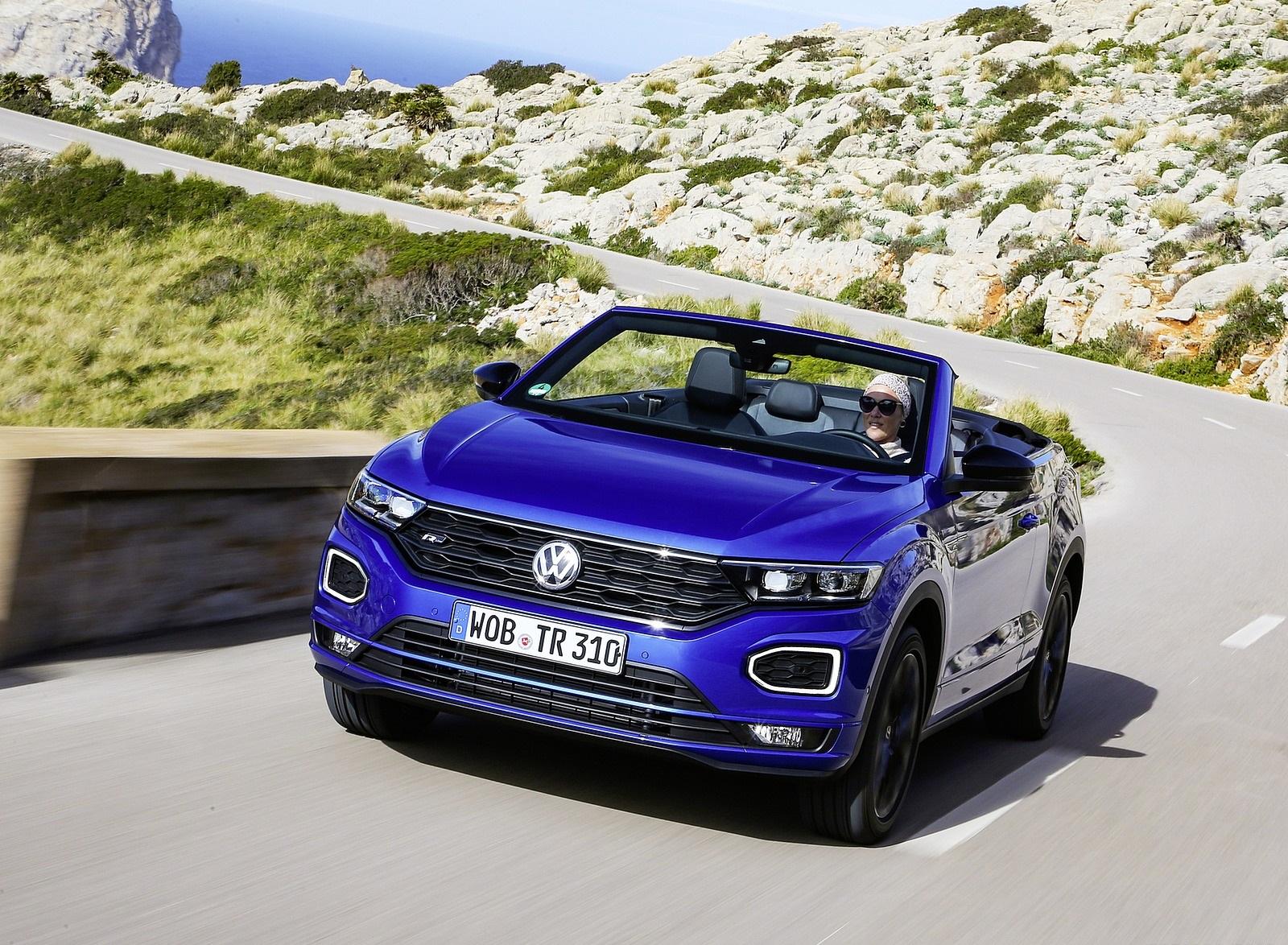 2020 Volkswagen T-Roc Cabriolet Front Wallpapers (6)