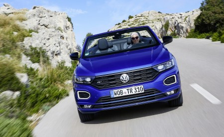 2020 Volkswagen T-Roc Cabriolet Front Wallpapers 450x275 (14)