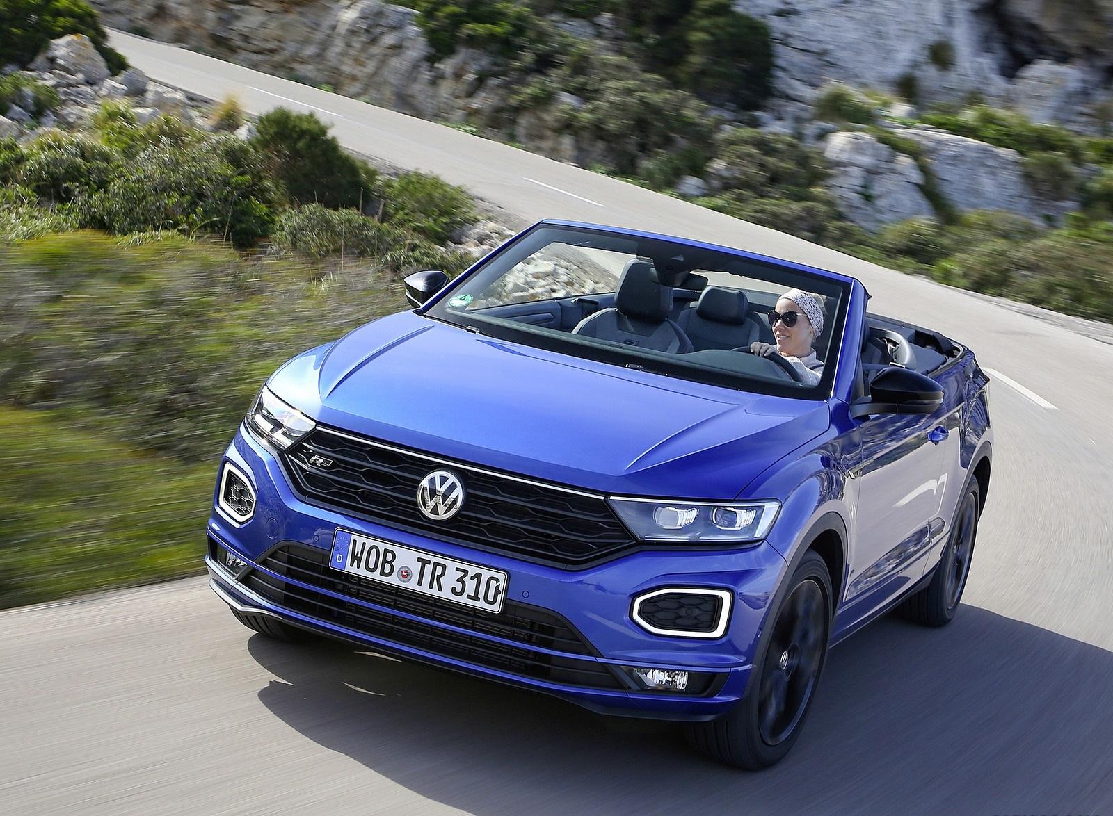 2020 Volkswagen T-Roc Cabriolet Front Wallpapers (7)