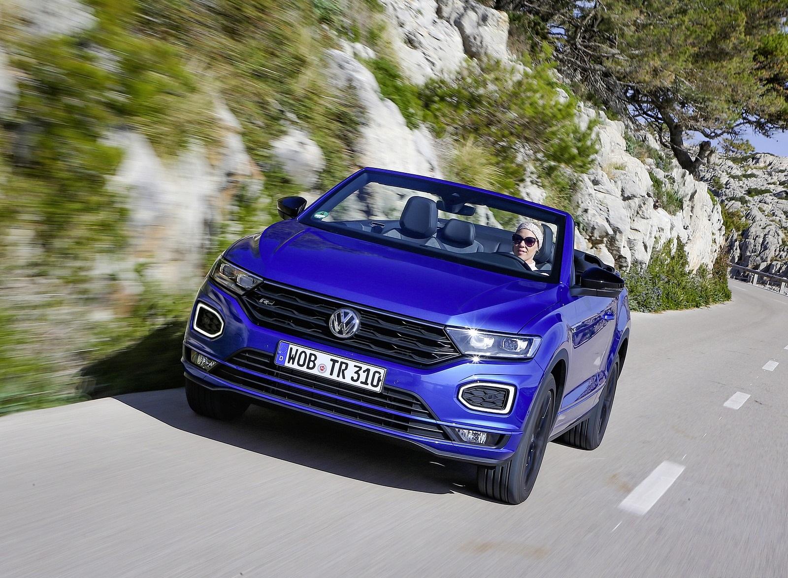 2020 Volkswagen T-Roc Cabriolet Front Wallpapers (8)