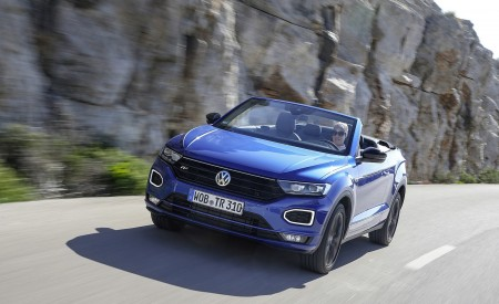 2020 Volkswagen T-Roc Cabriolet Front Wallpapers 450x275 (9)