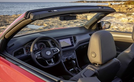 2020 Volkswagen T-Roc Cabriolet Interior Wallpapers 450x275 (143)