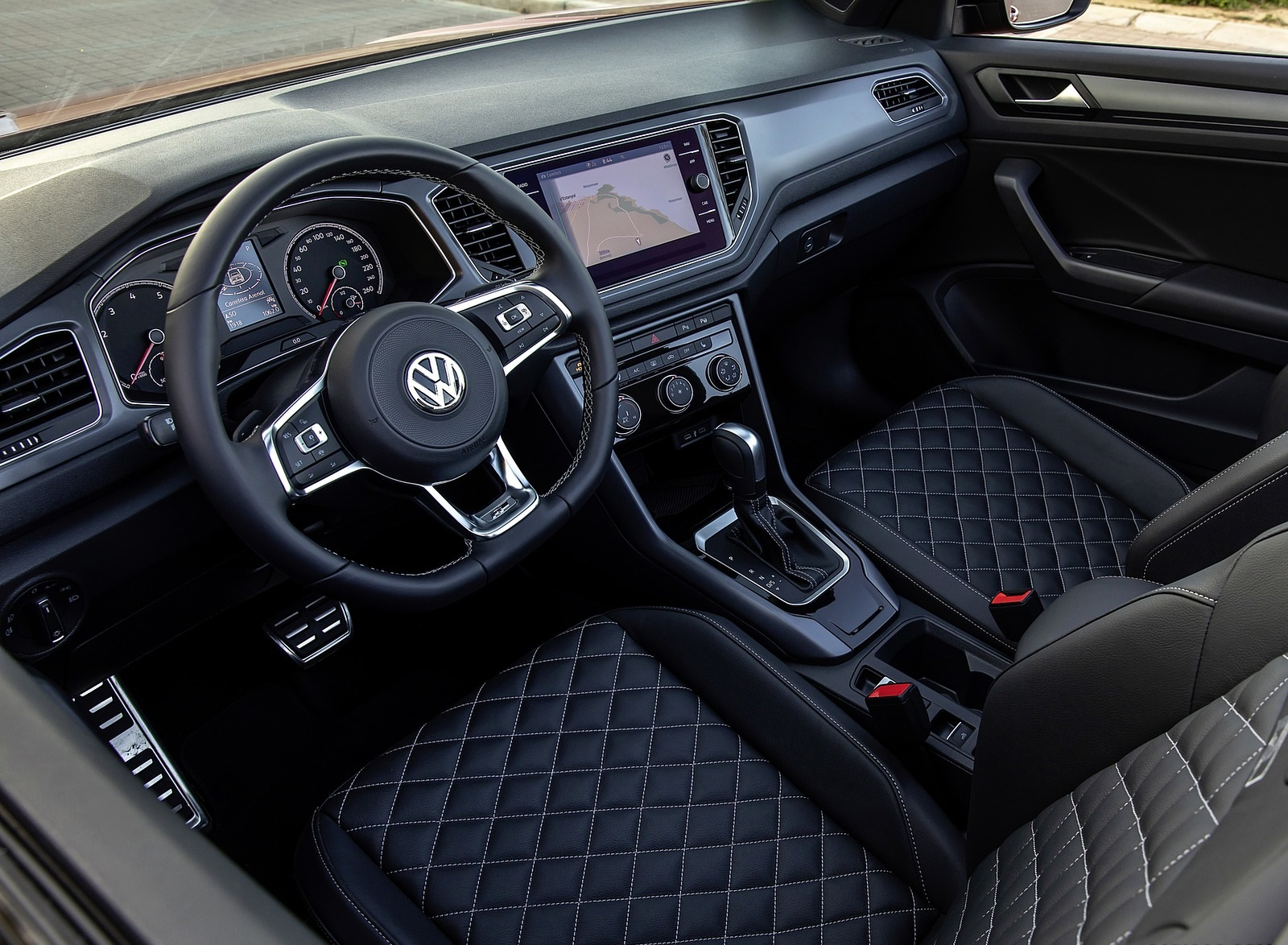 2020 Volkswagen T Roc Cabriolet Interior Wallpapers 144 Newcarcars