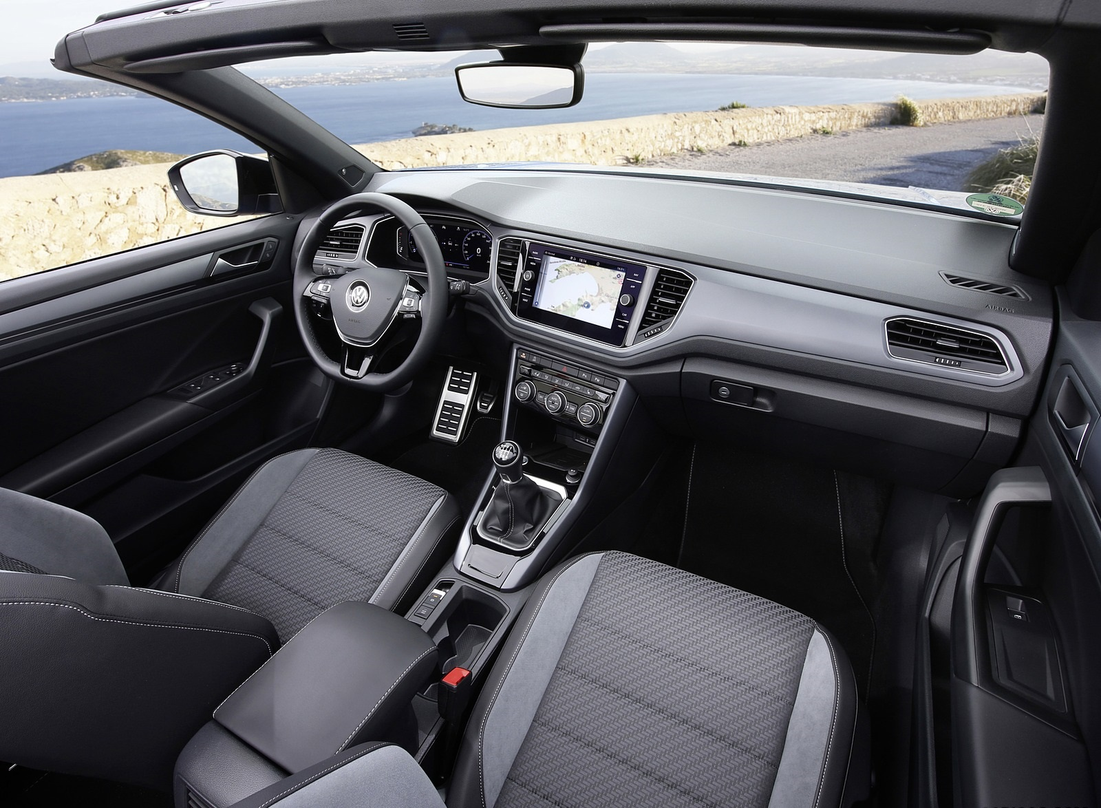 2020 Volkswagen T Roc Cabriolet Interior Wallpapers 67 Newcarcars
