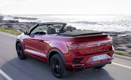 2020 Volkswagen T-Roc Cabriolet Rear Three-Quarter Wallpapers 450x275 (91)