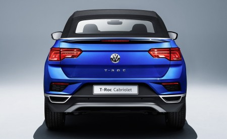 2020 Volkswagen T-Roc Cabriolet Rear Wallpapers 450x275 (198)