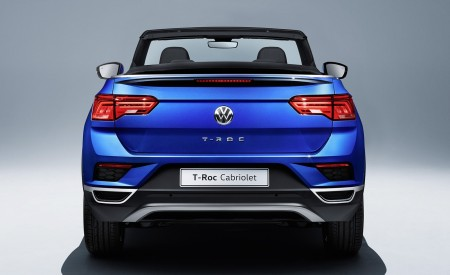 2020 Volkswagen T-Roc Cabriolet Rear Wallpapers 450x275 (199)