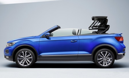 2020 Volkswagen T-Roc Cabriolet Side Wallpapers 450x275 (189)