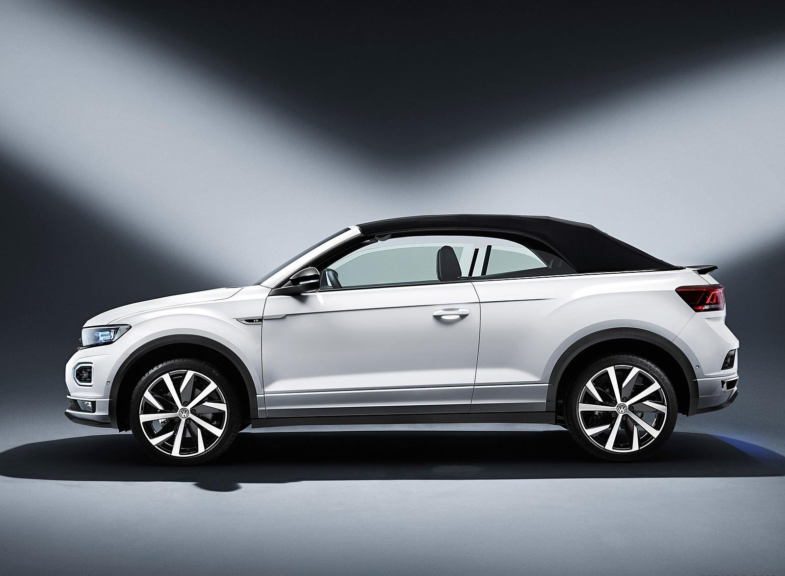 2020 Volkswagen T-Roc Cabriolet Side Wallpapers (11)