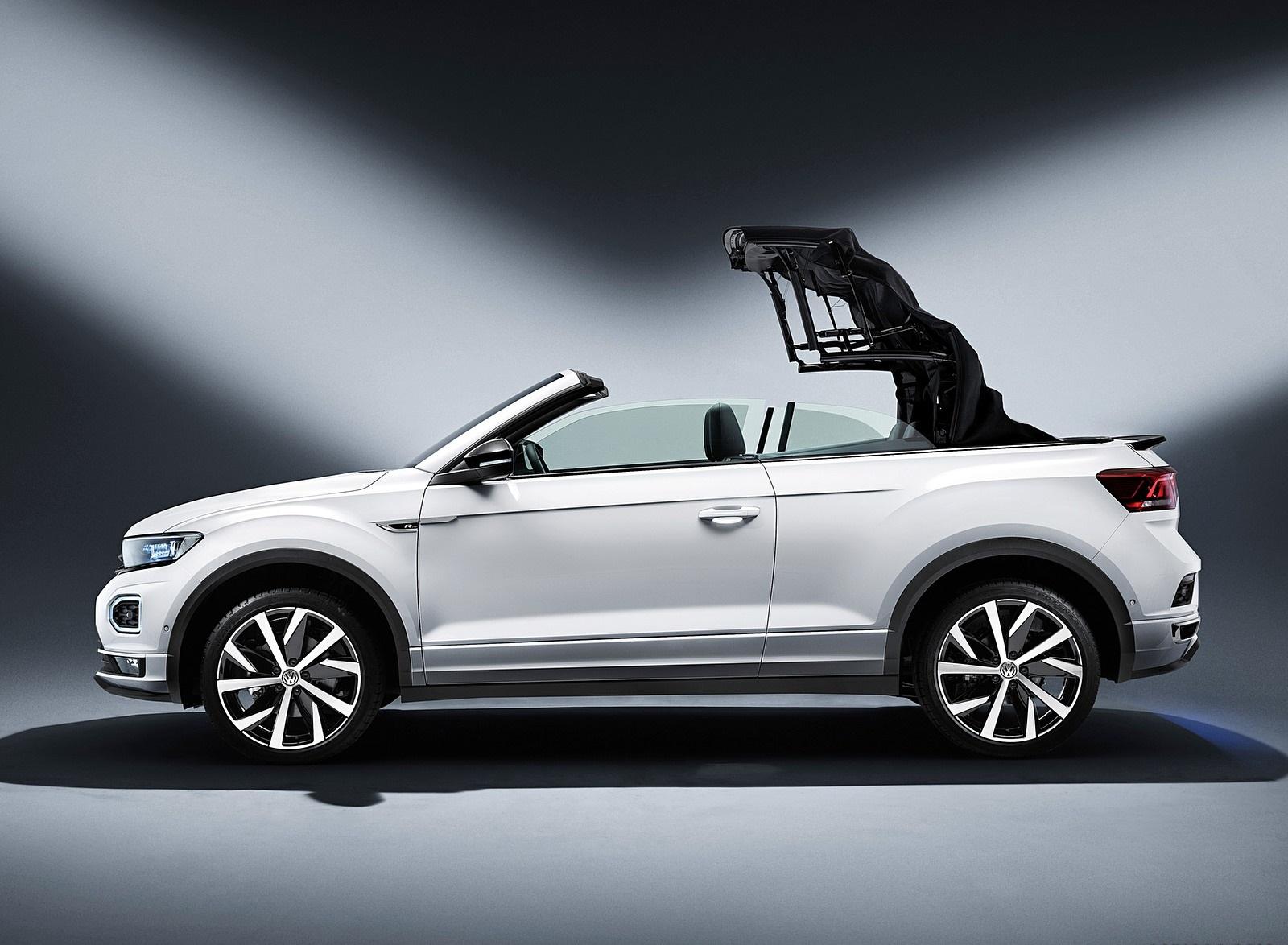 2020 Volkswagen T-Roc Cabriolet Side Wallpapers (13)